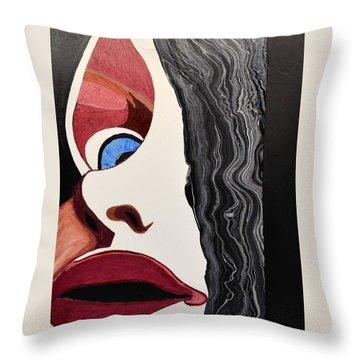 Lipstick Throw Pillow