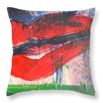 Lipstick - Sold Throw Pillow