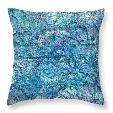 Liquid Abstract #22617 Throw Pillow