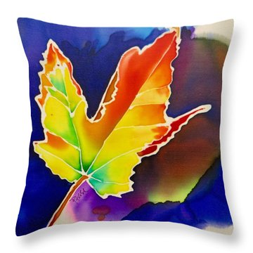 Liquid Amber Throw Pillow