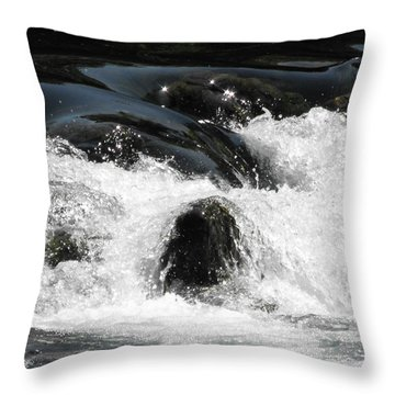 Liquid Art Throw Pillow