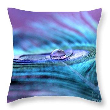 Liquid Bliss Throw Pillow