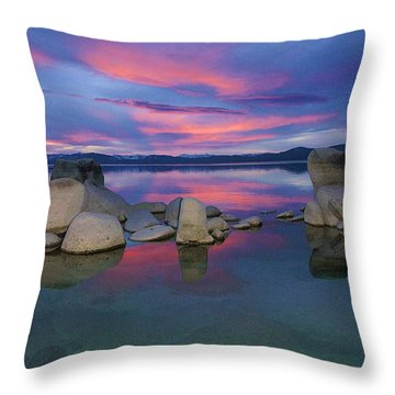 Throw Pillow featuring the photograph Liquid Dreams Portrait by Sean Sarsfield