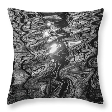 Liquid Light Throw Pillow
