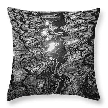 Liquid Light Throw Pillow
