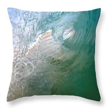 Liquified Hexagon  Throw Pillow