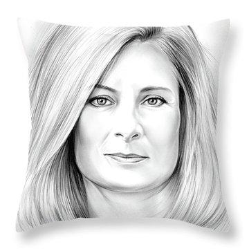 Lisa Randall Throw Pillow