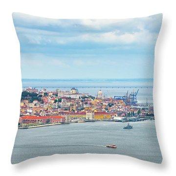 Lisbon 10 Throw Pillow