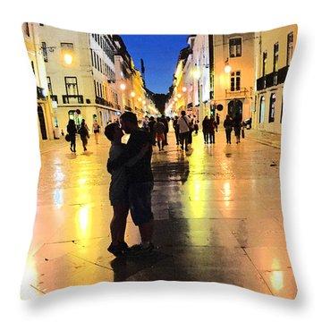 Lisbon Love Throw Pillow