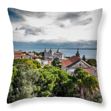 Lisbon Overlook Throw Pillow