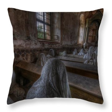 Listen  Throw Pillow by Nathan Wright