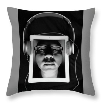 Listen To Inner Voice Throw Pillow