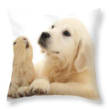 Listen When I'm Tellin Ya Throw Pillow