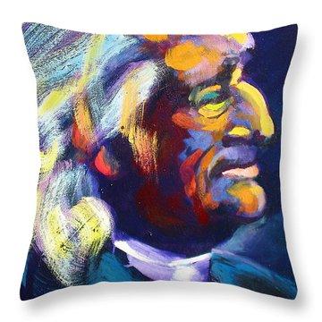 Liszt Throw Pillow