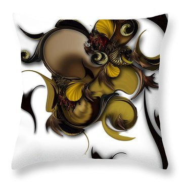 Literature Of Life - Vegetable Throw Pillow