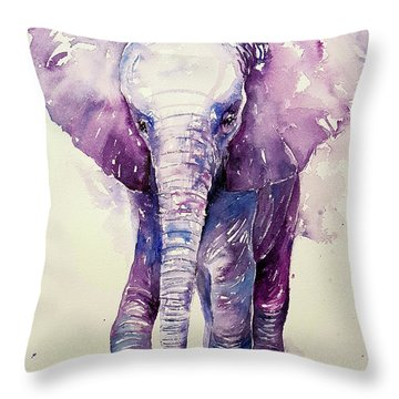 Lit'l Bobo Throw Pillow