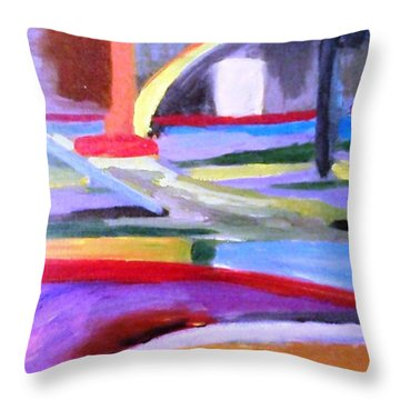 Little Acrylic Throw Pillow by Jamie Frier