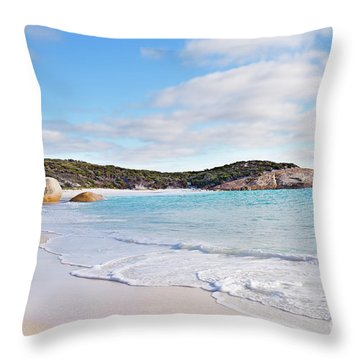 Throw Pillow featuring the photograph Little Beach, Australia by Ivy Ho