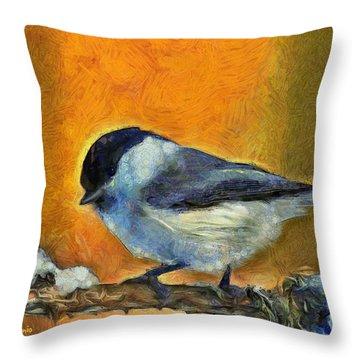 Little Bird - Da Throw Pillow