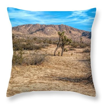 Little Butte Throw Pillow