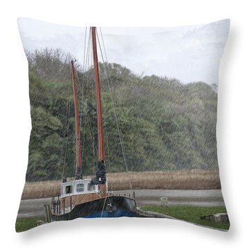 Little Charly Throw Pillow