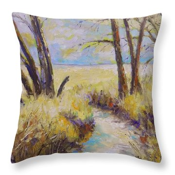 Little Creek Throw Pillow