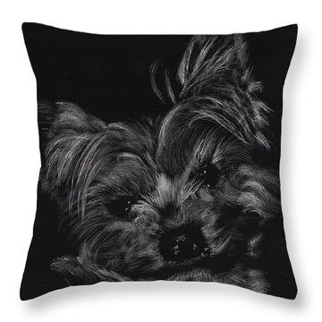 Little Cutey Throw Pillow