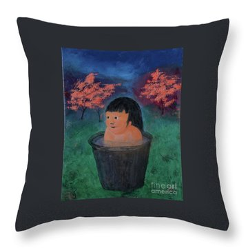 Little Darling Happiness Throw Pillow