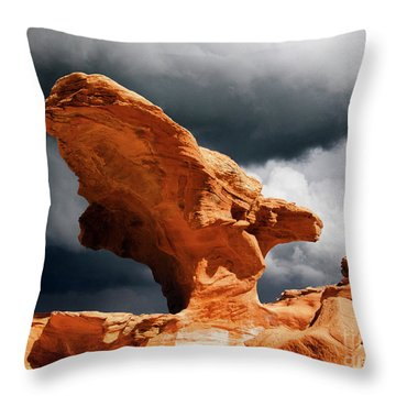 Throw Pillow featuring the photograph Little Finland Nevada 8 by Bob Christopher