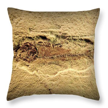Throw Pillow featuring the photograph Little Fish by Scott Kingery