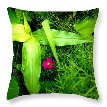 Little Flower Throw Pillow