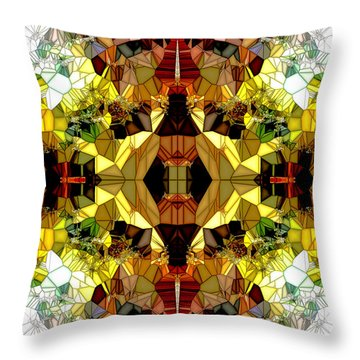 Little Gems Throw Pillow