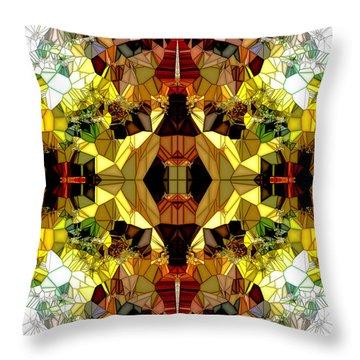 Little Gems Throw Pillow by Isabella F Abbie Shores FRSA