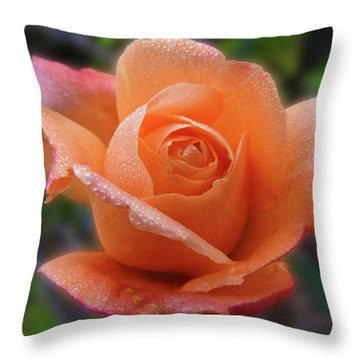 Little Goldie Throw Pillow