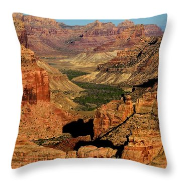 Little Grand Canyon Sunrise Throw Pillow