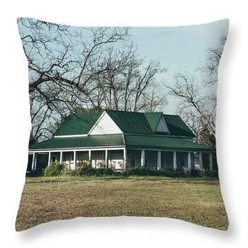 Throw Pillow featuring the photograph Little House On The Prairie by Kim Hojnacki