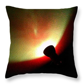 Little Light Of Calm Throw Pillow
