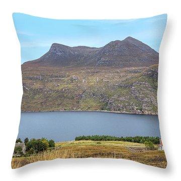 Little Loch Broom - Scotland Throw Pillow