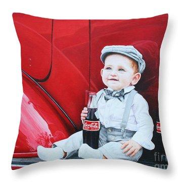 Little Mason Throw Pillow