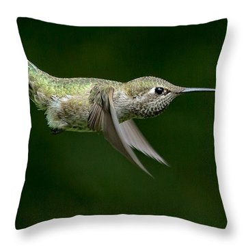 Little Missle Throw Pillow
