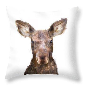 Little Animals Throw Pillows
