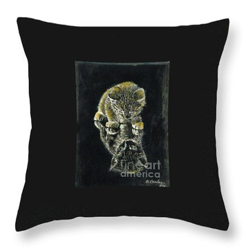 Little P-nut Butter Throw Pillow