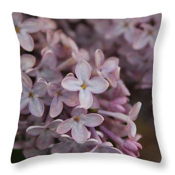 Little Pink Stars Throw Pillow