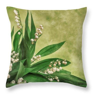 Little Poison Throw Pillow by Wim Lanclus