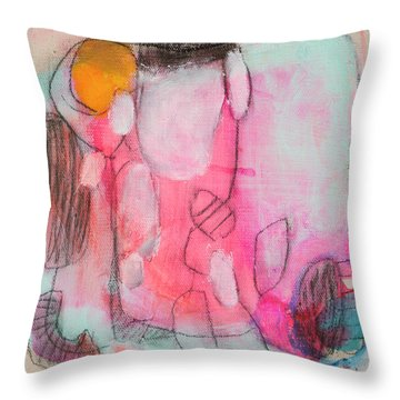 Little Secret 04 Throw Pillow