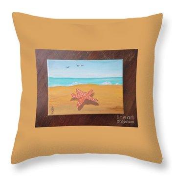 Little Star Fish Throw Pillow