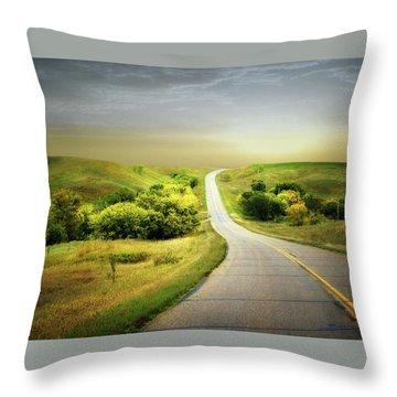 Little Valley Throw Pillow