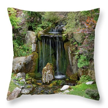 Little Waterfall Throw Pillow