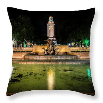 Throw Pillow featuring the photograph Littlefield Gateway by David Morefield