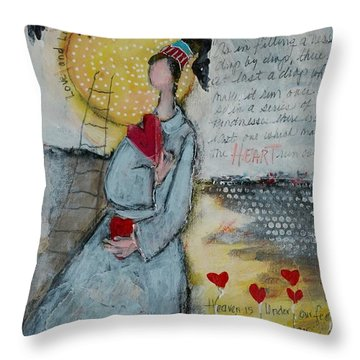 Live Joyfully  Throw Pillow